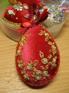 Пасхальные яйца вышитые 19