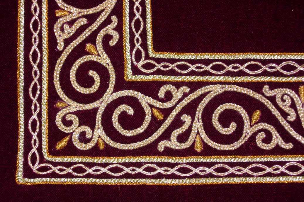 Узоры для вышивки шнур